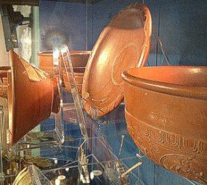 Alcester Roman Museum pottery